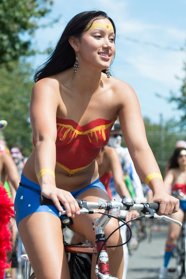Naked Bike Ride Seattle Velo Love Pinterest