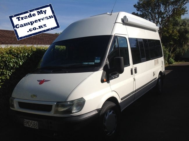For Sale Ford Transit Motorhome Only 36 000 Located In Tauranga