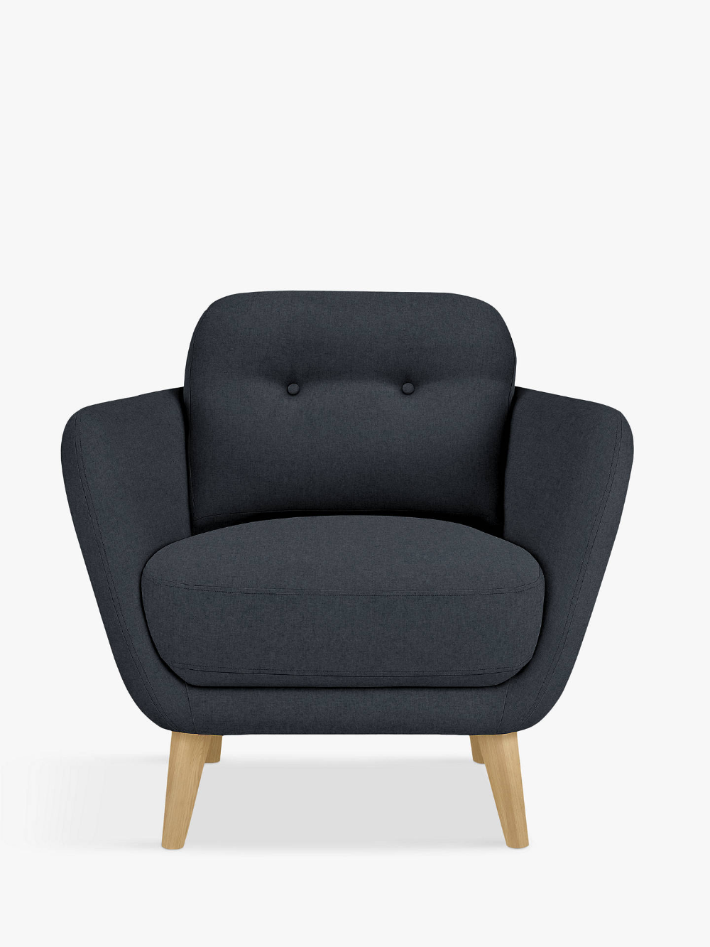 House By John Lewis Arlo Armchair Dylan Charcoal At John Lewis