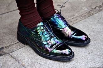 shoes holographic modern hipster holographic shoes galaxy print vans shoes black grunge flat grey 60s 70s 80s metallic fluffy cool 90s style goth pastel goth