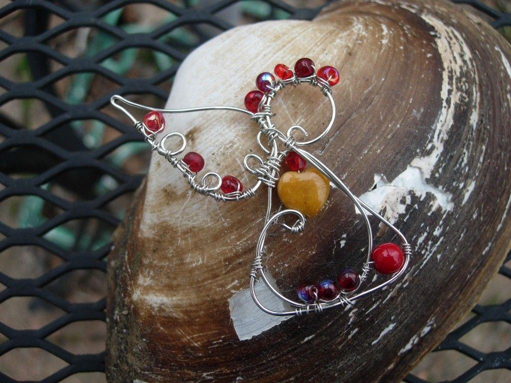 New wire angel design - #art, #diy, craft