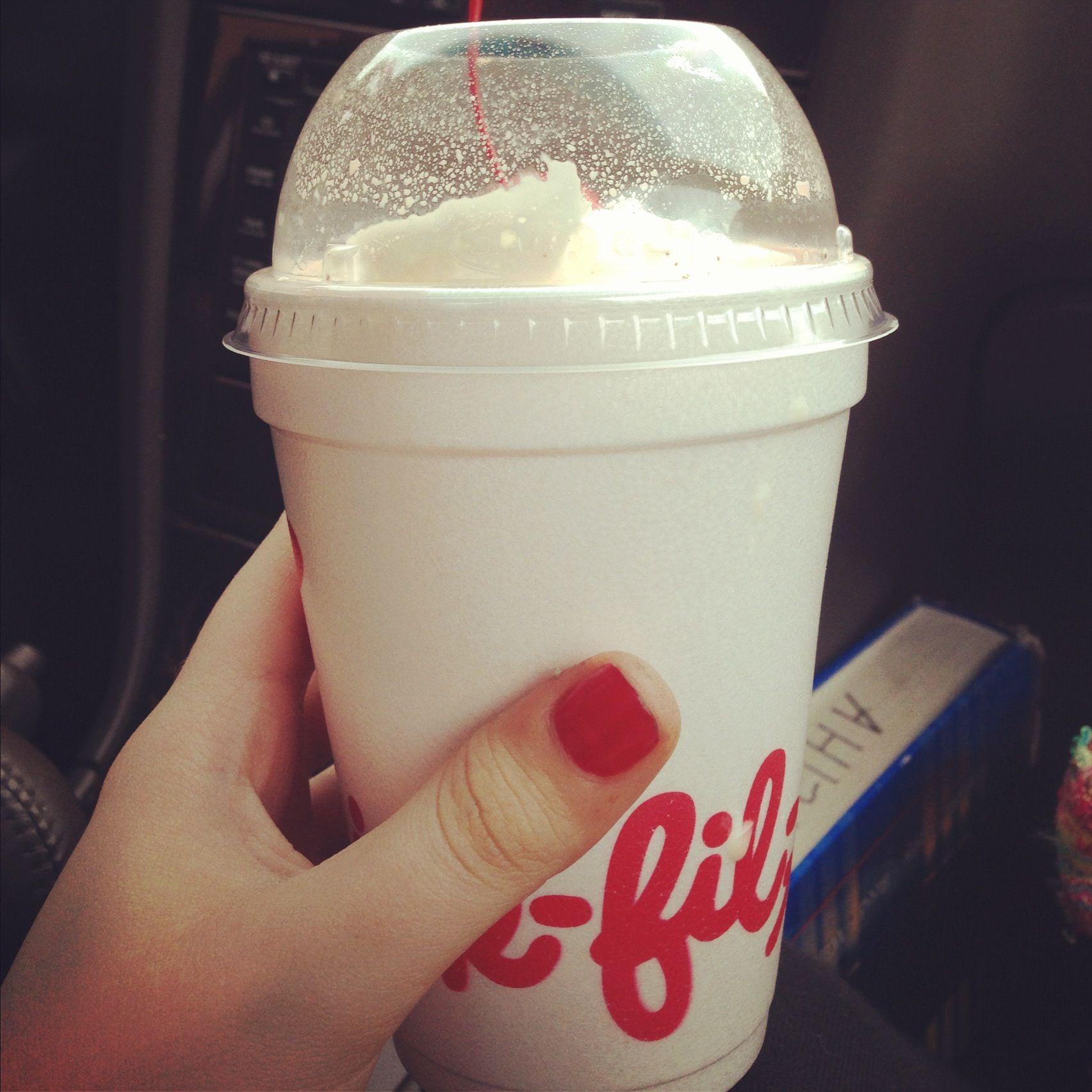 Chickfila peppermint milk shakes Milkshake, Dunkin