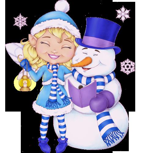 ForgetMeNot: Season winter - snowmen
