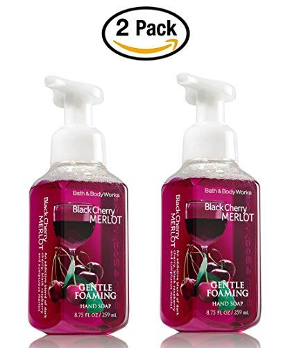 Bath And Body Works Black Cherry Merlot Gentle Foaming Hand Soap 2