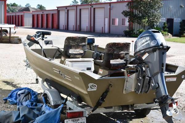 G3 stick steering jon boat and motor 111898933881 for Jon boat with jet motor