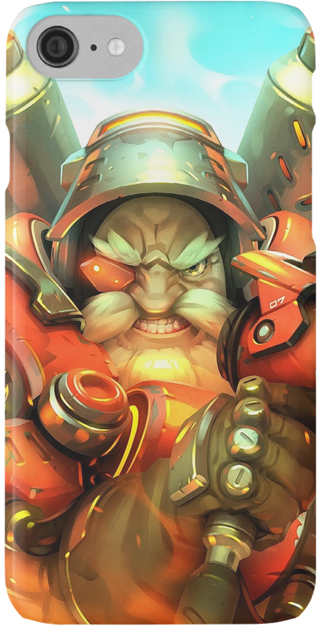 Overwatch Torbjorn Phone Cases By Gamevault By Me In 2019