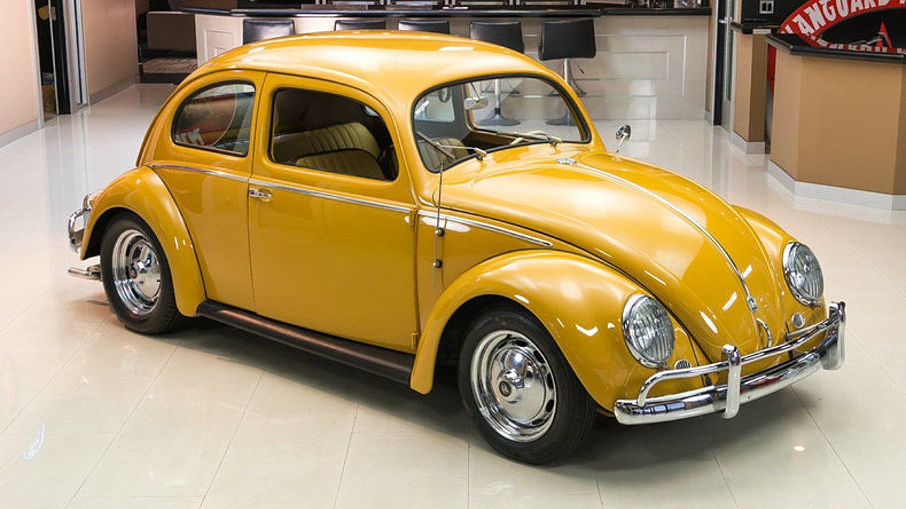 1956 Volkswagen Beetle for sale near Plymouth, Michigan
