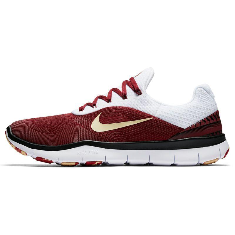 dc4353491835 Florida State Seminoles Nike Free Trainer V7 Week Zero Shoes - Garnet Gold