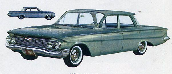 1961 Chevrolet Biscayne Four-Door Sedan