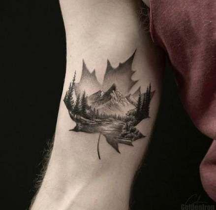 Photo of Nature Tattoo Mountain Inspiration 46+ Ideen – Nature Tattoo Mountain Inspirati …