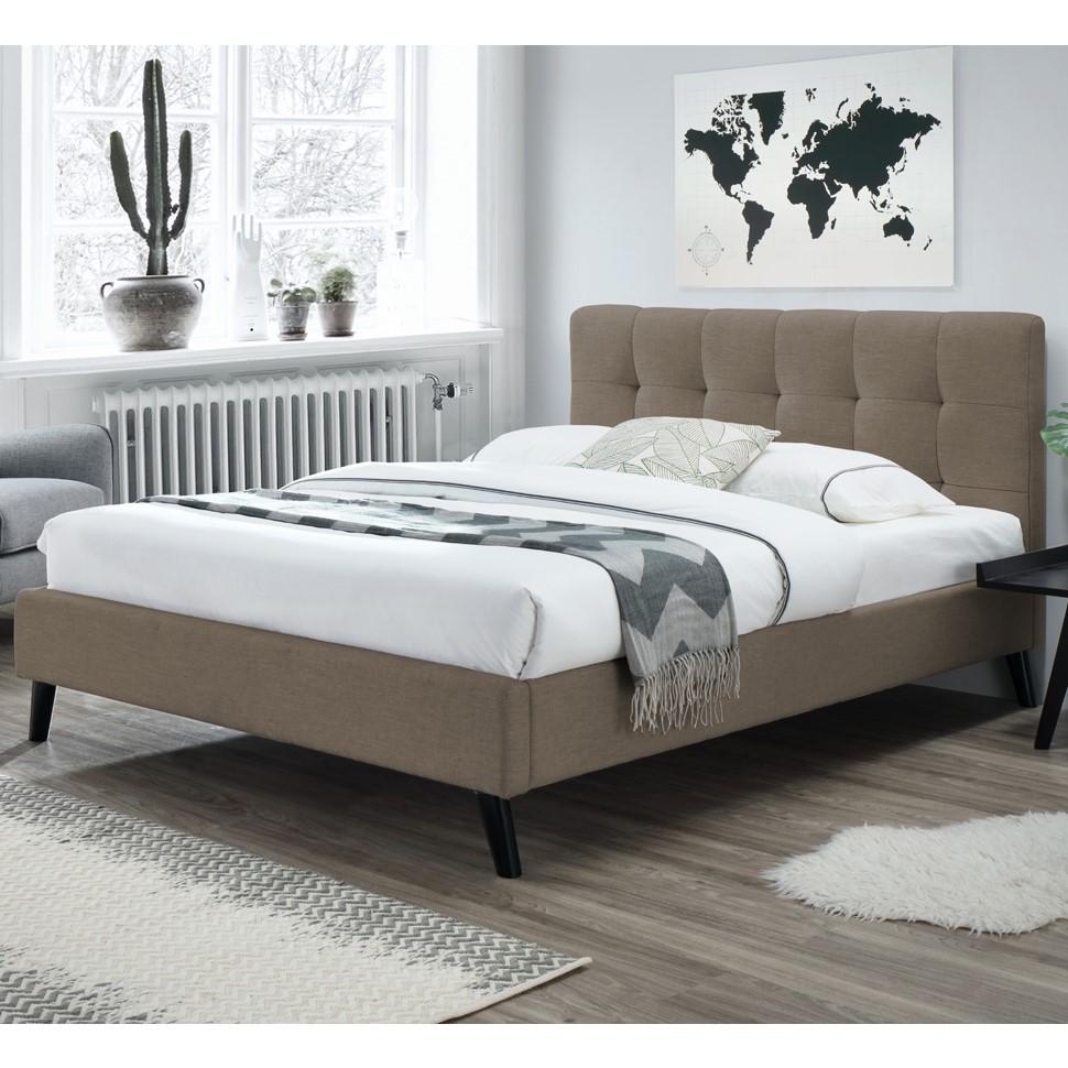 Bella Καφέ Κρεβάτι Διπλό in 2020 Bedroom furniture, Bed