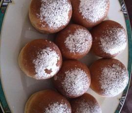 Rezept Faschingskrapfen - Lecker und Leicht(er) - aus dem Backofen von Na Dja - Rezept der Kategorie Backen süß