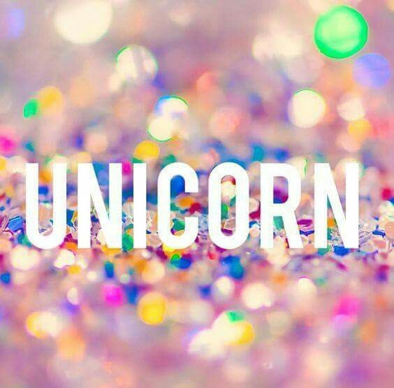 Unicorn word in glitter | Unicorns in 2019 | Unicorn ...