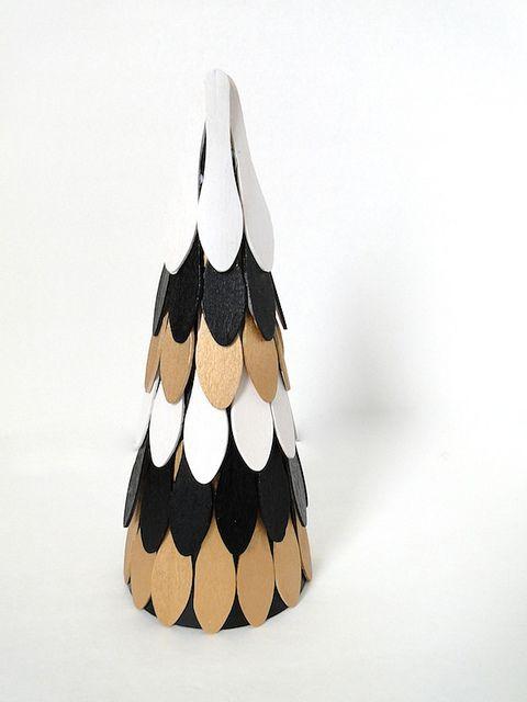 cc07cca2d8 DIY | WOODEN ICE CREAM SPOONS TREE (fabricpaperglue) | DIY | Mini ...