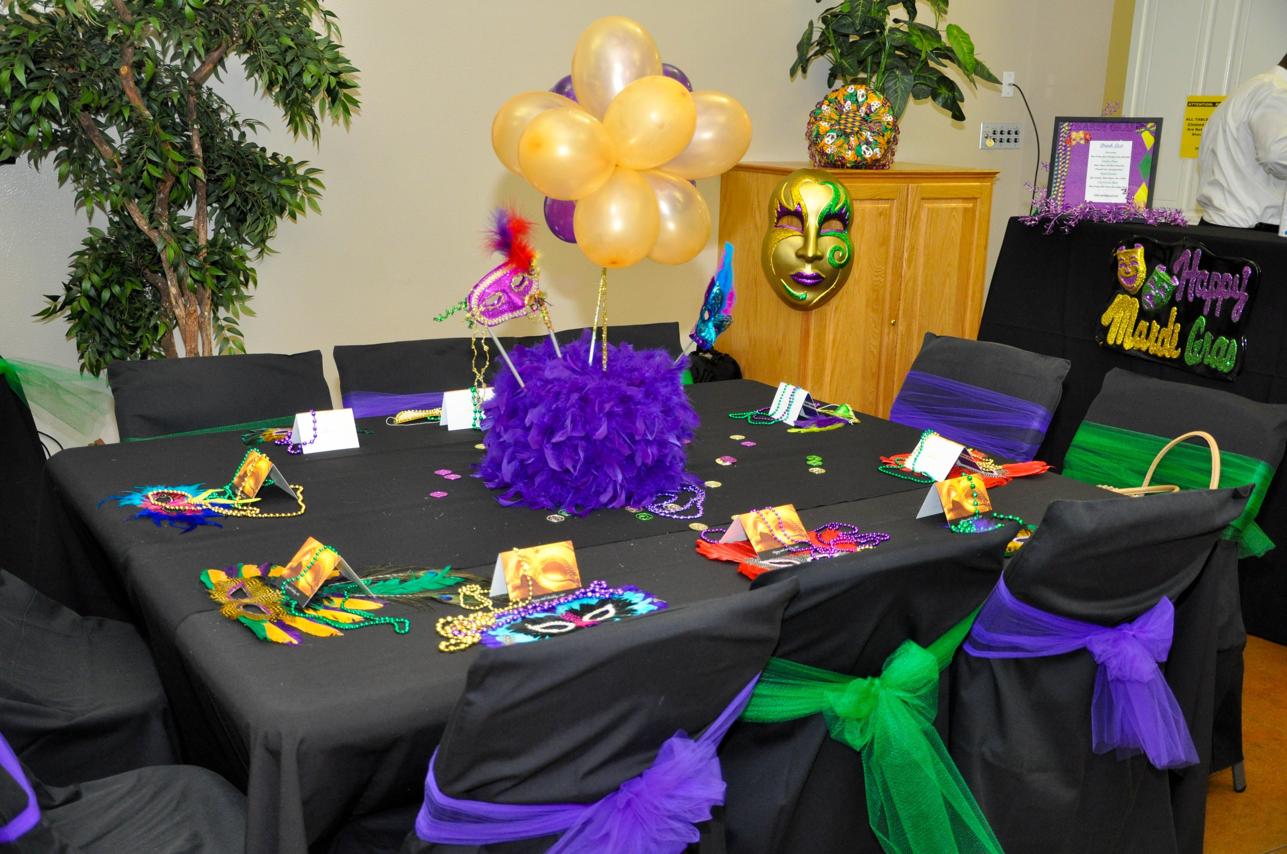 My Mom Sisters And I Planned A Surprise 60th Birthday Party For Dad Using Mardi Gras Theme All Of Our Masks Were Home Made As Well The