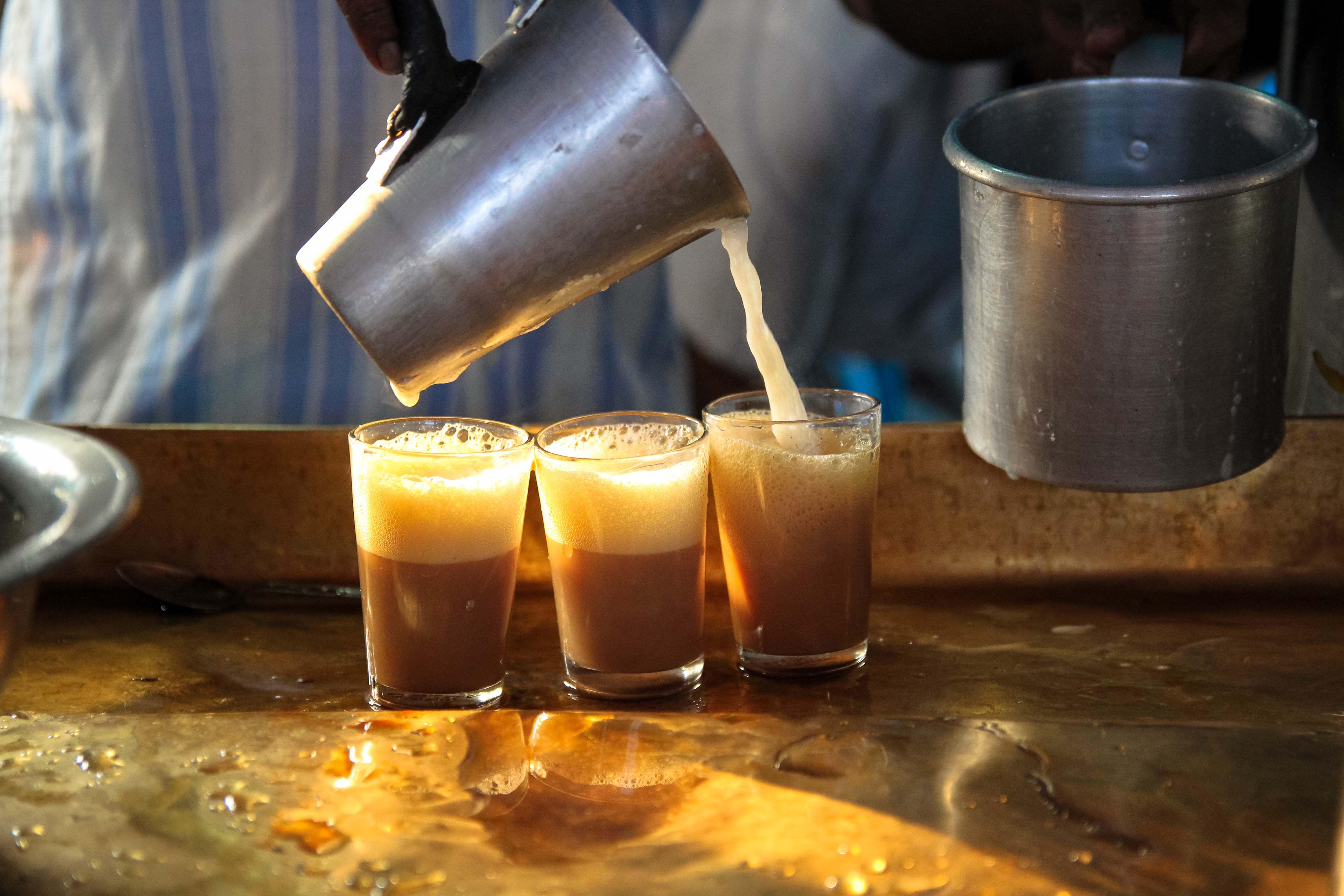 India Varanasi Tea