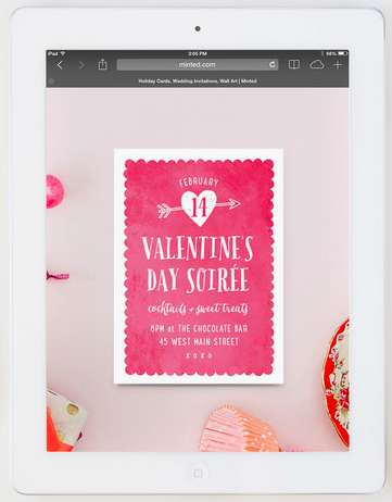a valentine s day soiree send an online invitation to your next v