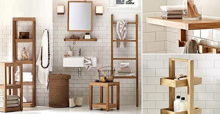 badkamer accessoires hout | digtotaal, Badkamer