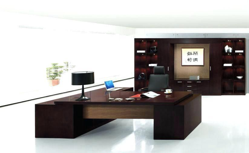 Small Executive Office Desks Office Interior Design Office Furniture Modern Home Office Layouts