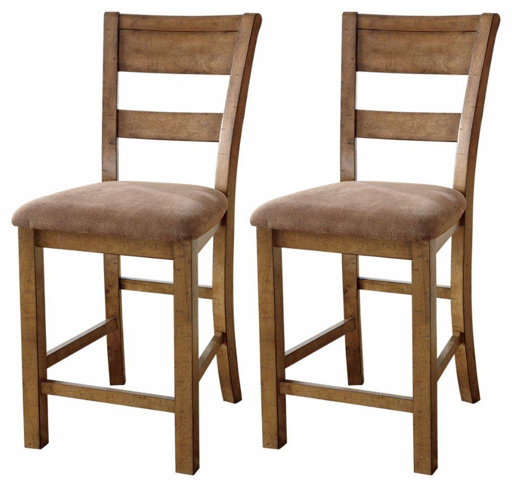 Ashley Furniture Signature Design Krinden Upholstered Barstool Set