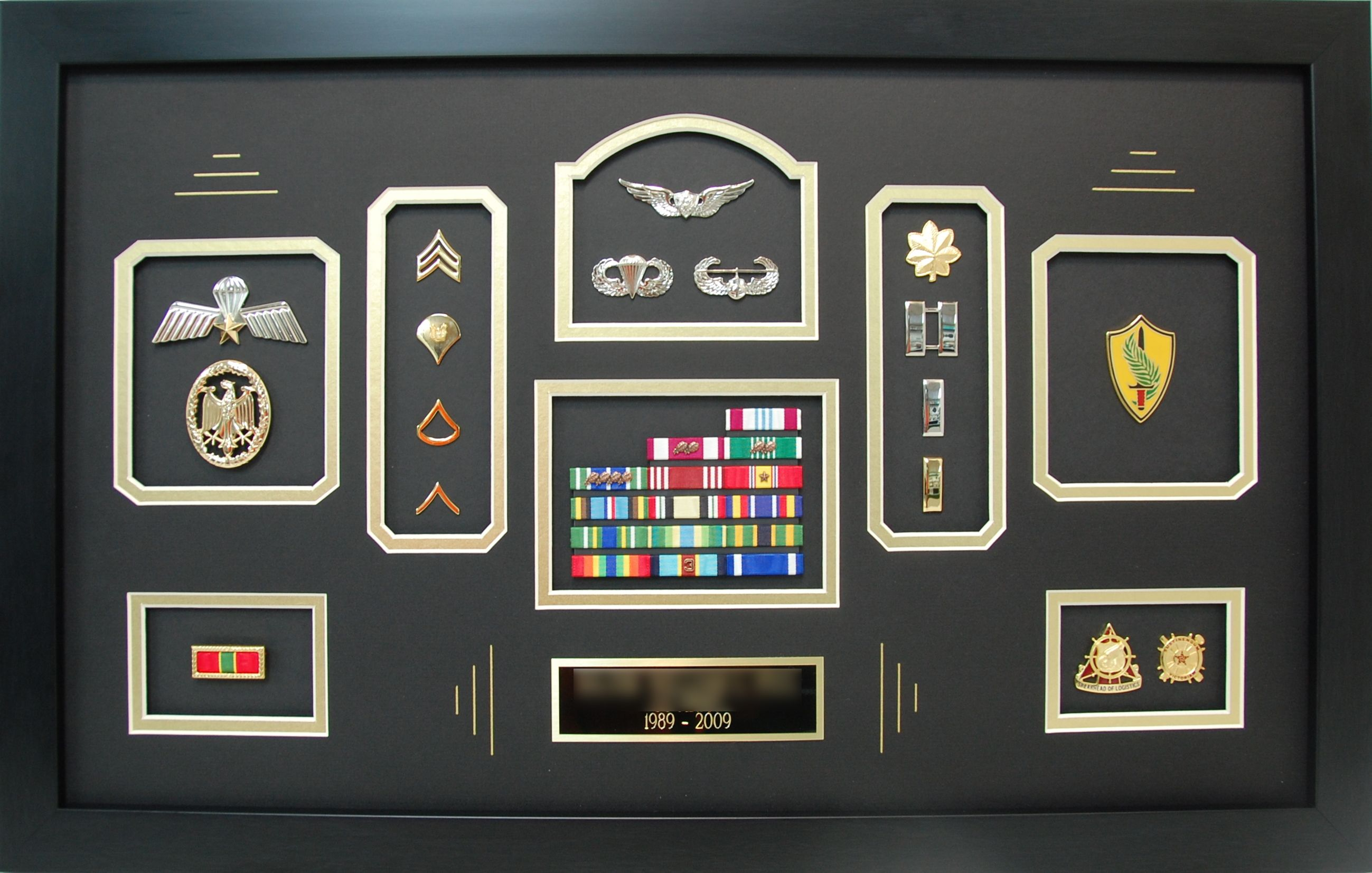This Army Major S Shadow Box Turned Out Very Nice This Design