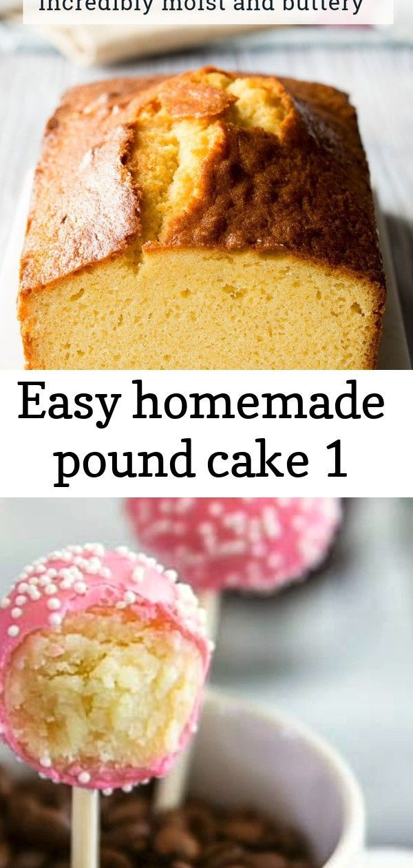 Easy homemade pound cake 1 #starbuckscake This is the BEST PoundCake! It's an easy homemade pound cake recipe you'll love. You won't believe how simple this pound cake loaf is to make. There's one secret ingredient to make it rich and moist. Get the recipe on The Worktop. || #poundcake #poundcakerecipes A step by step guide to achieve the most perfect vanilla cake pops. Better than starbucks' birthday cake pops. The best foolproof cake pop recipe ever. #cakepops #vanillacakepops #starbuckscakepo #starbuckscake