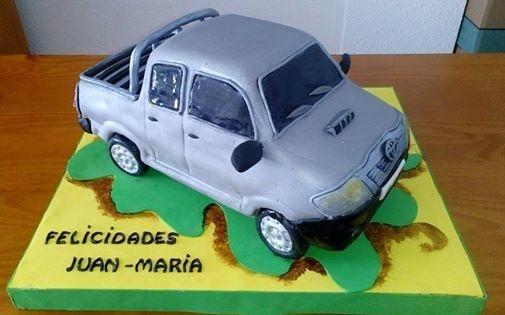 CAR 3D CAKE - Cake by Camelia