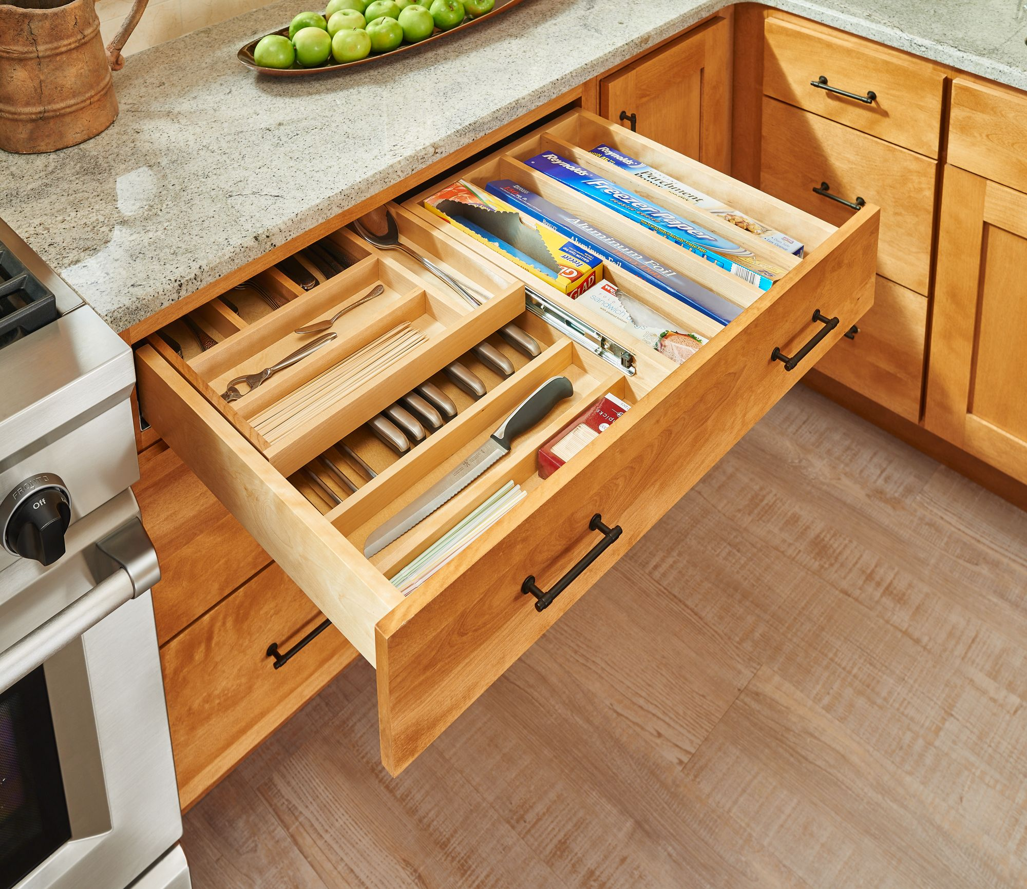 These Wider Cutlery Drawers By Rev A Shelf Are Designed For 30 And 36 Inch Cabinets An Kitchen Remodel Kitchen Drawer Organization Kitchen Renovation