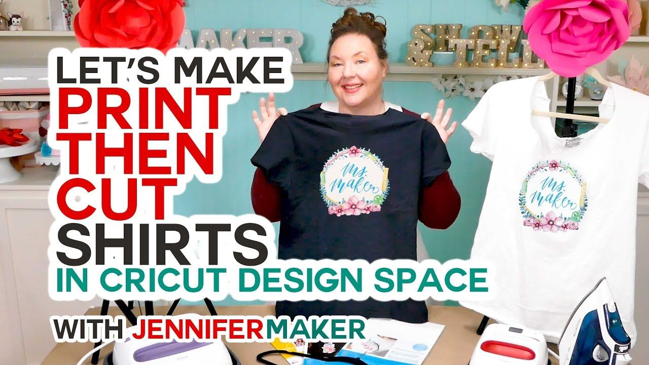 1e4fa195 Make Print Then Cut T-Shirts with Your Cricut the RIGHT Way! - YouTube