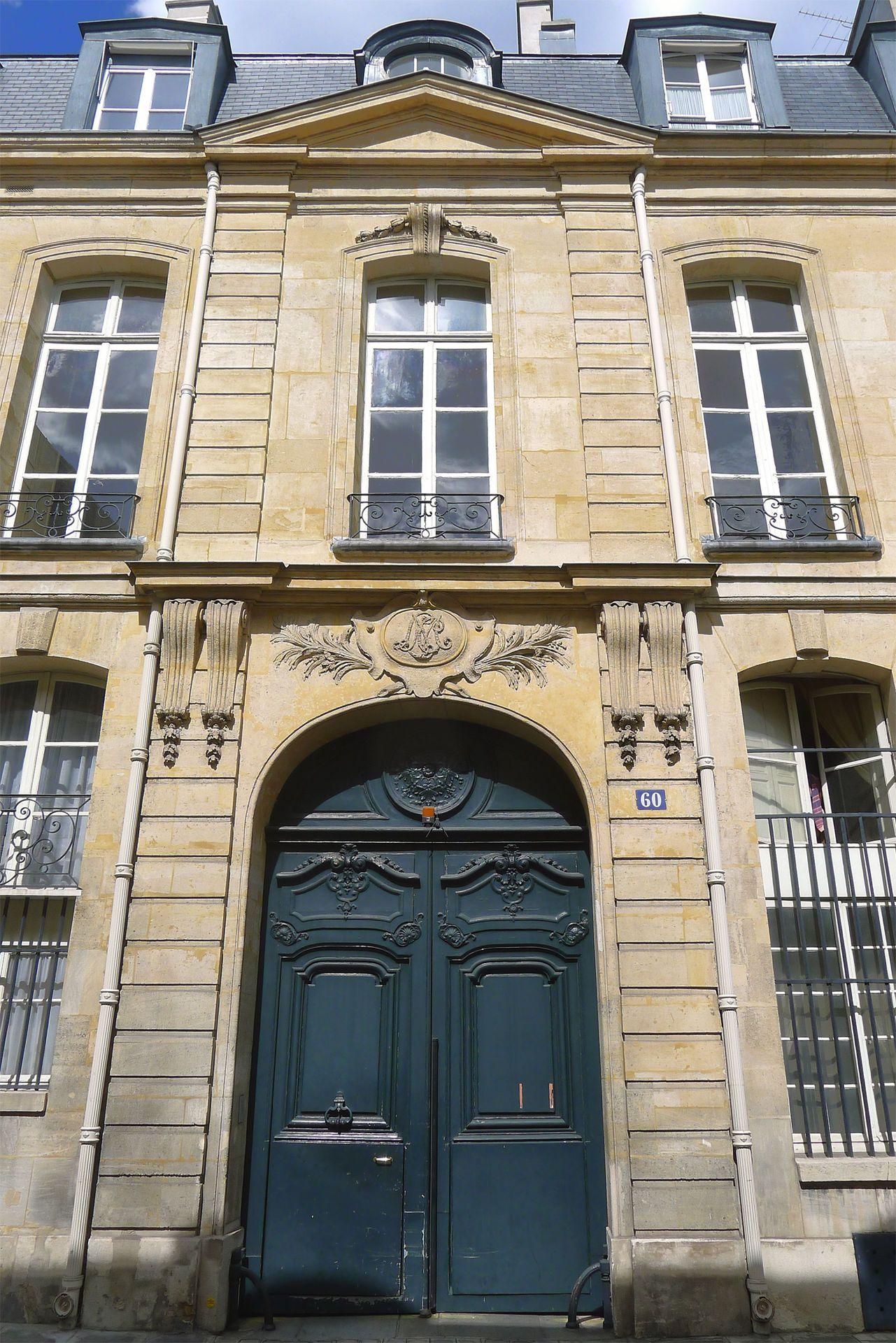 Hôtel Duprat - 60 Rue de Varenne, Paris 7e