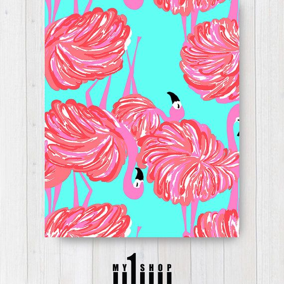 sale printed beach towel bright flamingo lilly pulitzer inspired bridesmaid gift - Beach Towels On Sale