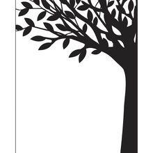 Darice® Embossing Essentials Leafy Tree Trunk Embossing Folder