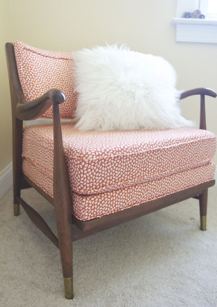 Before & After: Mid-Century Armchair Gets a Facelift | Mid century ...