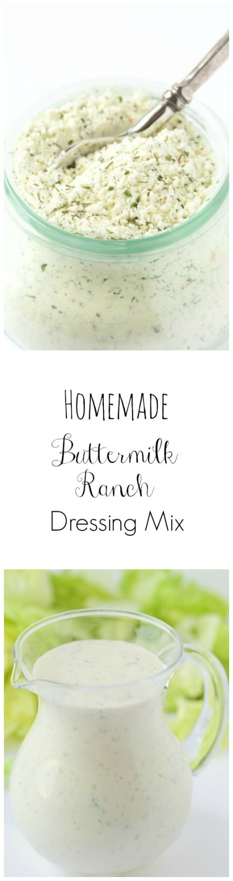 Homemade Buttermilk Ranch Dressing Mix Recipe Homemade Buttermilk Ranch Dressing Mix Homemade Ranch Dressing Buttermilk Homemade Buttermilk