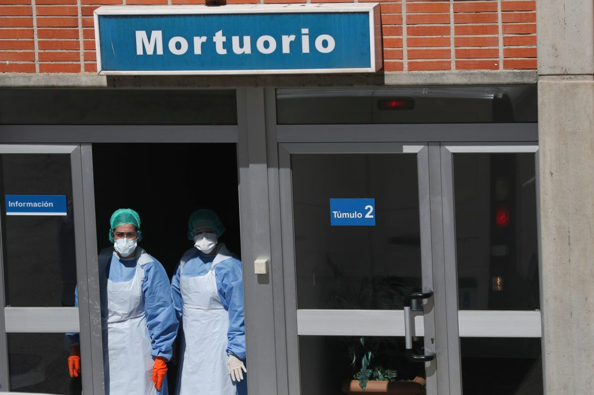 Up to 200K deaths foreseen in U.S. as Spain, Italy demand