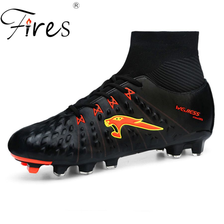52bb09af1 compare prices fires brand soccer boots men long spikes professional sports  shoes mens outdoor summer  wide  fit  shoes