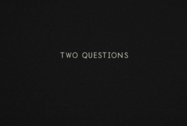 Two questions that can change your life by Daniel Pink. A video excerpt from Daniel Pink's DRIVE: The Surprising Truth About What Motivates Us