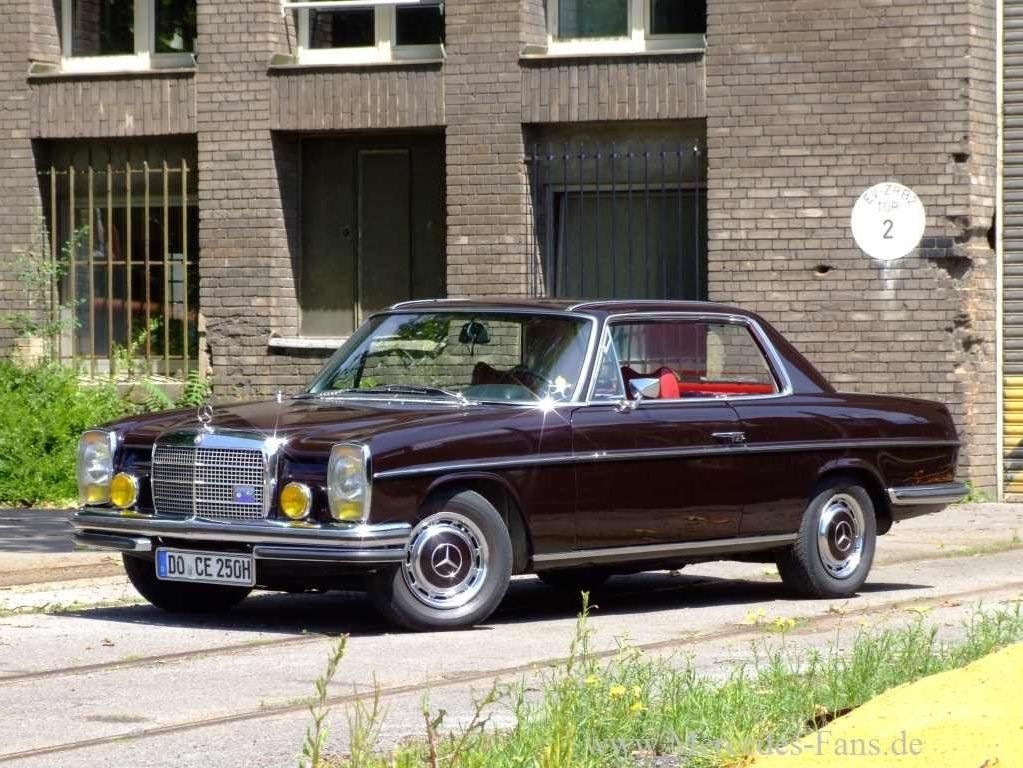 the coupe version of the w114 8 w115 mercedes 280. Black Bedroom Furniture Sets. Home Design Ideas