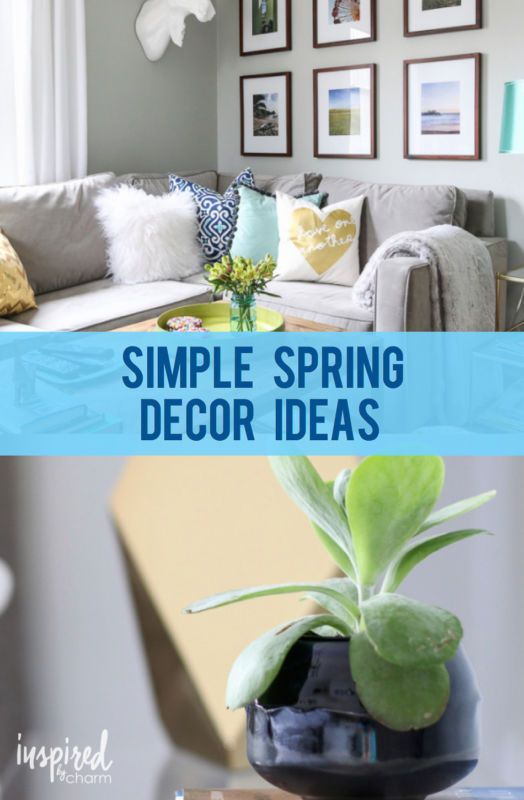 Simple Spring Decor Ideas Pinterest - Woonideeën - esszimmer gestaltung 107 ideen