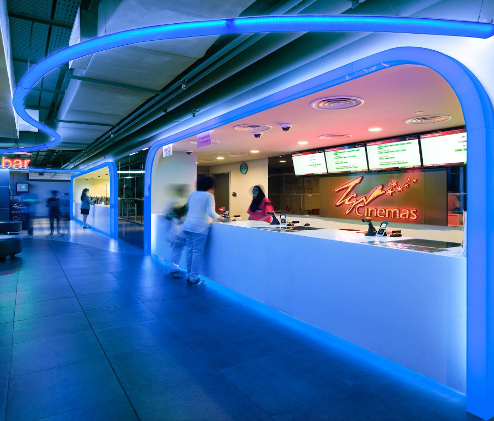Tgv Cinemas Sunway Putra Mall Google Search Tennis Court Cinema Basketball Court