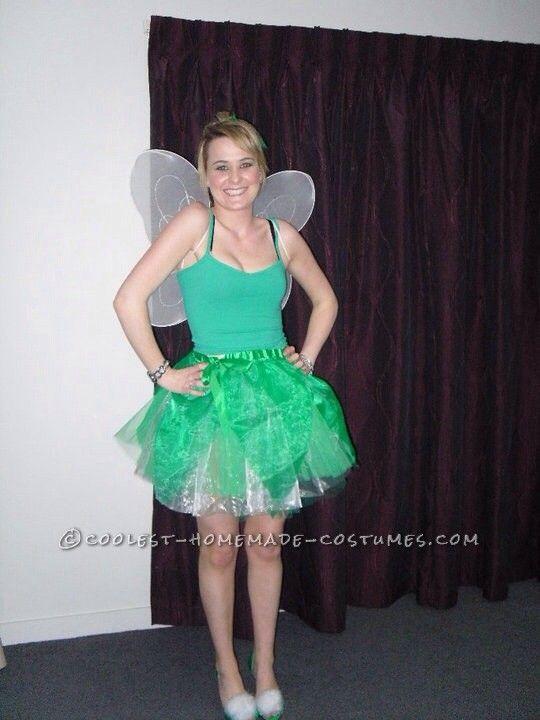 feisty tinkerbell homemade costume
