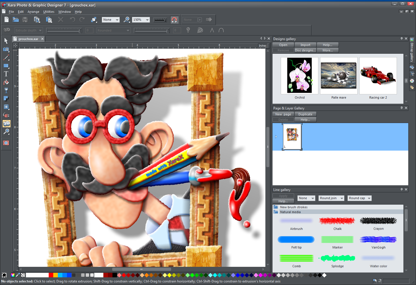 Xara Photo & Graphic Designer FREE Download Graphic