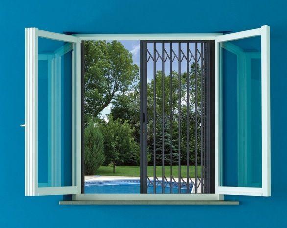 Grille De Sécurité De Fenêtres Et Portes Fenêtres Sur Mesure Pose