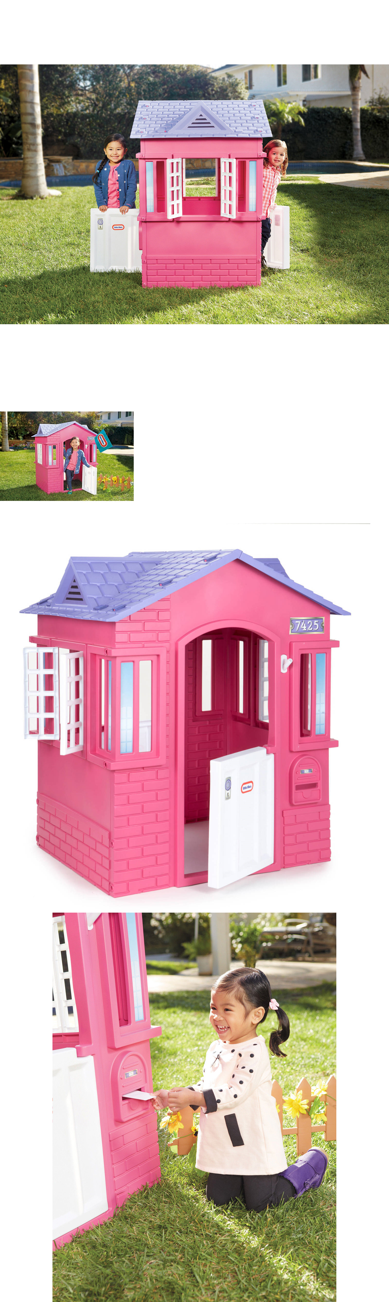 permanent playhouses 145995 little tikes princess cottage fun