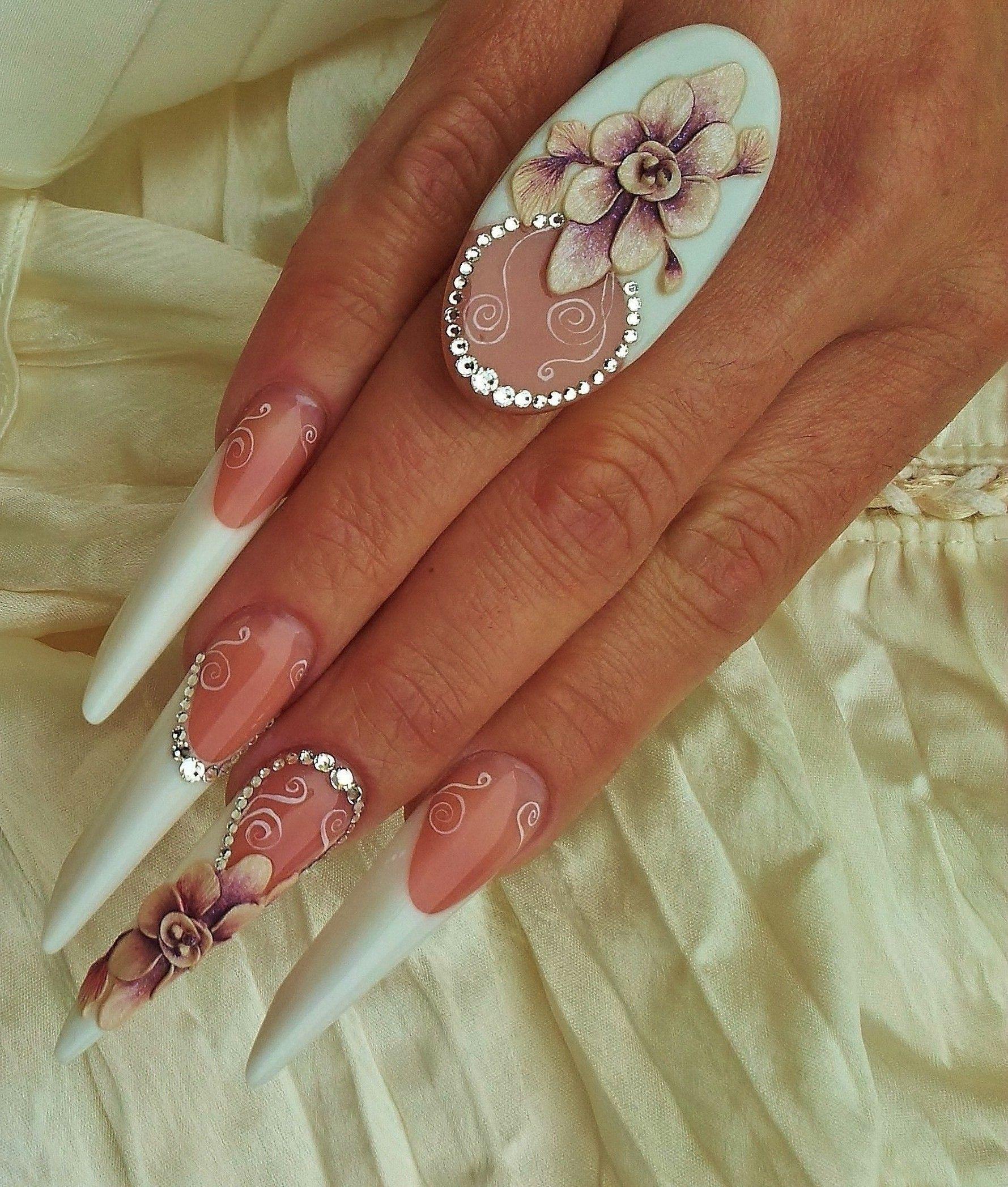 Készítette: Albach Edina | Nail Art | Pinterest | Stilettos