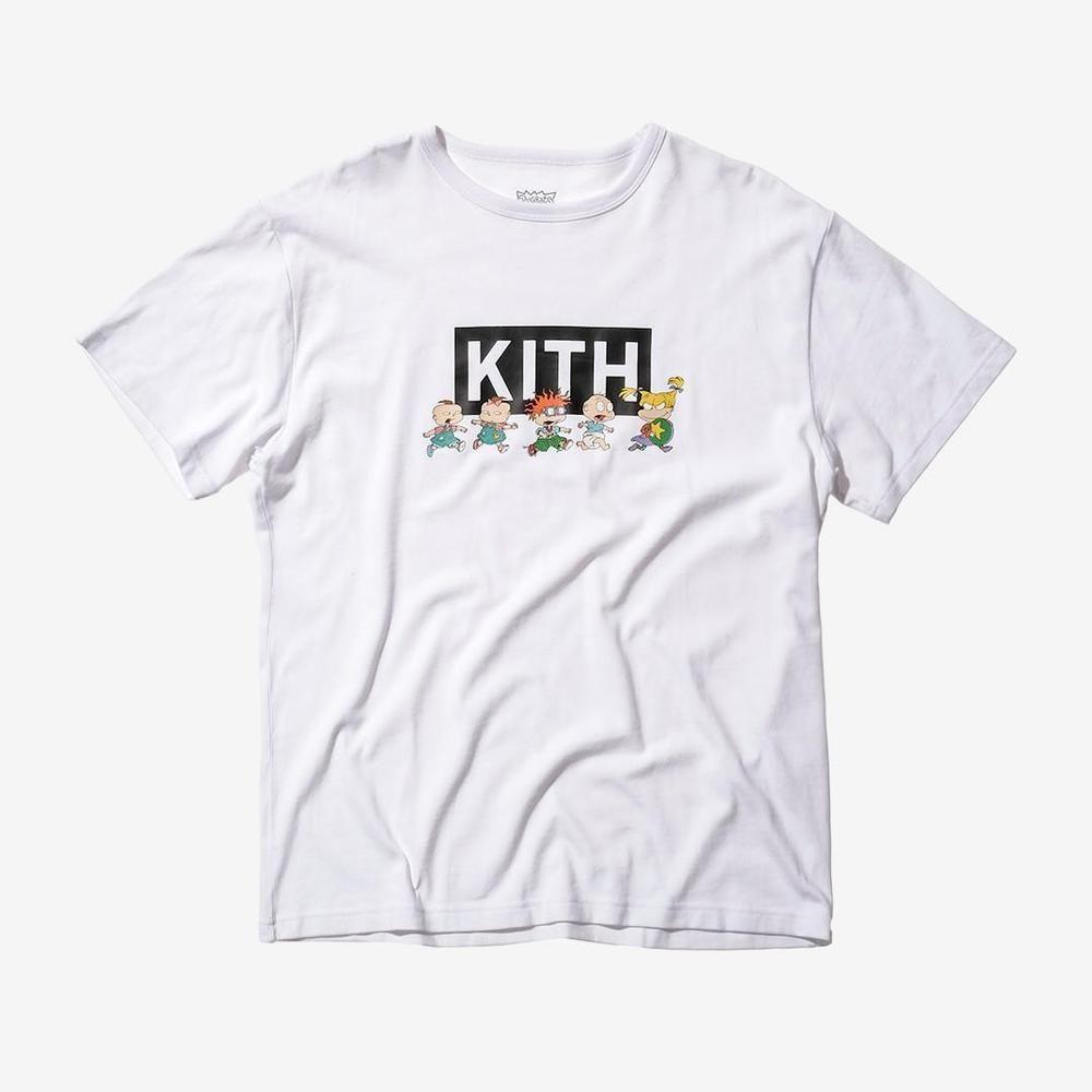 Kith X Rugrats Chase T Shirt White