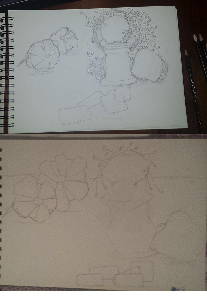 Algunos Bocetos En Mi Block De Dibujo En Tamano A4 Antes De Comenzar Con El Dibujo En Tamano A3 Block De Dibujo Dibujos Artisticos Artistas