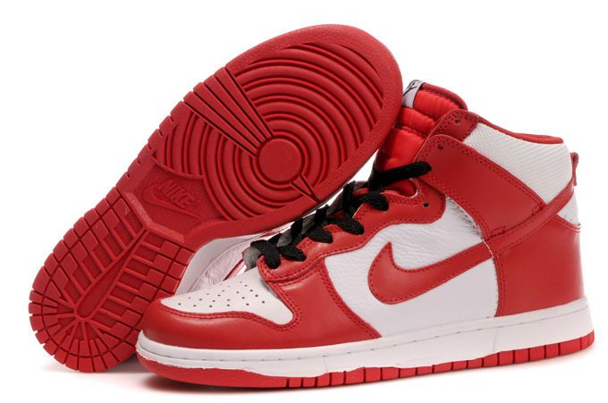 Nike Dunk High Spring 2010 Pack Red