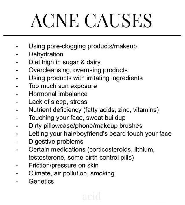 Pin By Emilia Bjorg On Skincare In 2020 Skin Facts Acne Causes Acne Treatment