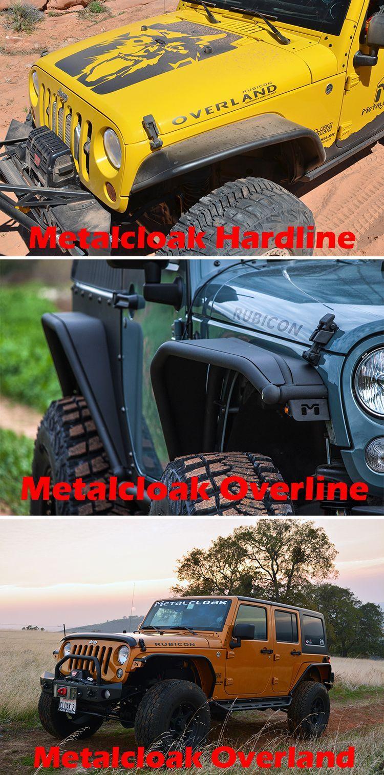 Metalcloak Tube Fenders Front Jeep Wrangler Jk Jeepwrangler